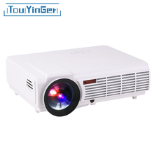 LED96+ BT96 projector Android4.4 wifi optional 1280*800 Support Full HD 1080p Video 3D LED Home Projector 3000lms lcd Beamer VGA(China)