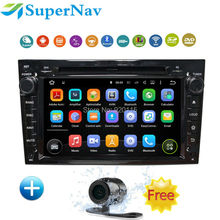 Android5.1 Quad core HD1024*600 car radio gps 2din For Opel Astra H G J Vectra Antara Zafira Corsa Graphite with free map+camera
