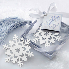Wholesale Silver CROSS Snowflake Heart BOOKMARK BABY CHRISTENING GIFT New(China)