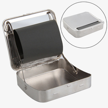 1pcs Automatic Cigarette Roller Cigarette Tobacco Roller Rolling Machine Box Case Deluxe Metal Durable New Smoking Accessories