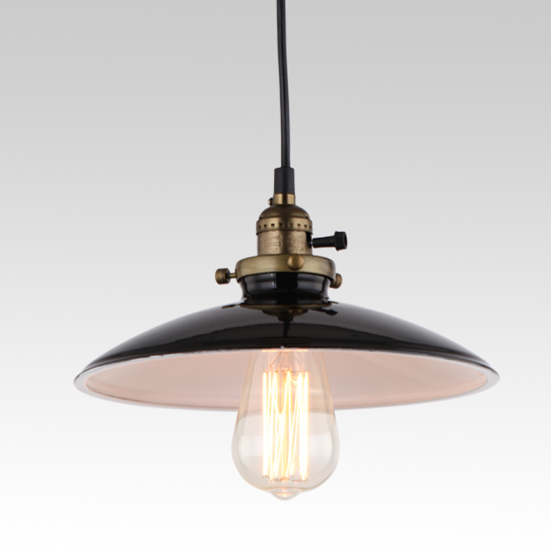 Loft Vintage Pendant Lamp Dia 250mm E27 Aluminum Iron Retro Northern Europe Industrial Style Edison Pendant Lights<br><br>Aliexpress