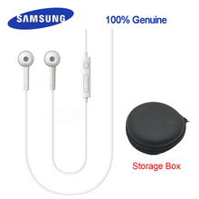 Samsung ehs64avfwe earphone In-ear Storage box Galaxy S6 SMG920/S Edg SM G925/S5/S6/S7 xiaomi4/5/6 note1/2/3 rednote2/3