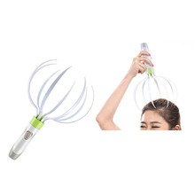 2017 Electric Scalp Massager Head Body Massager Convenient ClawTelescopic Scratcher Scratcher Telescopic Extendable Massage
