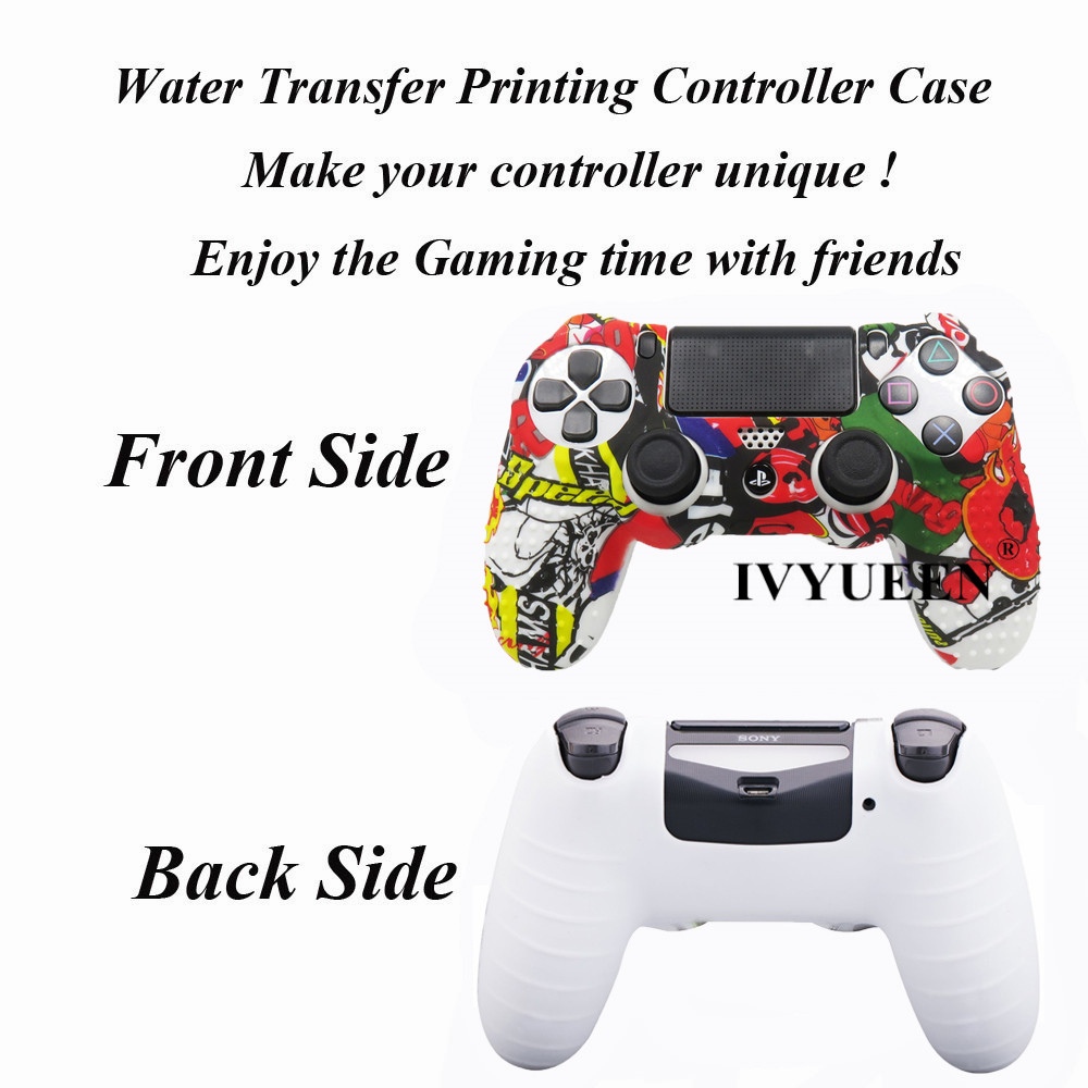 for PlayStation 4 ps4 Pro slim controller case  skin 03