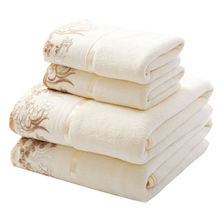 35*75cm/70*140cm Super Soft Elegant Cotton Terry Hand Towels Face Bathroom Hand Towels Bulk Embroidered Hand Towels