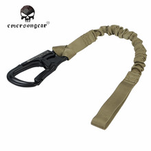 Emerson Type Tactical Airsoft Paintball Elastic Safety Lanyard Belt Military Army Adjustable Quick Release Safety Strape EM8891B
