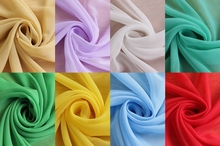 100% Polyester Chiffon Fabric 17 Colors 1.5m Wide For Bridal, Wedding, Dress, Lining Fabric,Skirt Silky Soft Fabrics