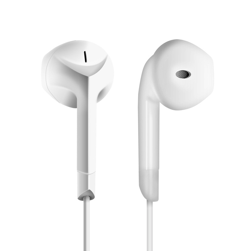 HCQWBING F2 Original Brand E6C Earphone Stereo Headset Half In-ear Earbuds with Microphone for Apple iPhone Mobile Phone Xiaomi