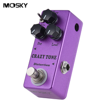 MOSKY MP-50 CRAZY TONE RIOT Distortion Mini Single Guitar Effect Pedal True Bypass Guitar Parts & Accessories