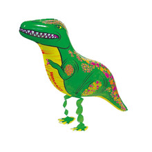 Cheap Dinosaur Balloon Kids Birthday Wedding Party Decoration Animals Air Balloons Gifts Mylar Helium Balloon for Baby Toy(China)