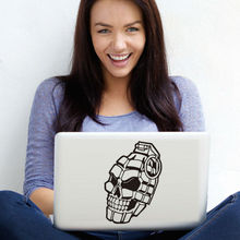 Skull Hand Super Cool Design Computer Sticker Car Wall Laptop Vinyl Decal Removable Adhesive Notebook Sticker