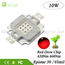 High Power LED Chip 10W Grow Diode Deep Red 660nm + Red 630nm COB DIY 10W 20W 30W 50W 100W LED Grow Light For Plant Growth
