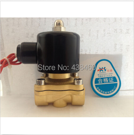 Electric Solenoid Valve Water Air N/C DC 12V 3/4 2w<br><br>Aliexpress