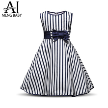 Ai Meng Baby Toddler Girl Summer Dress Baby Kids Party Wear Princess Girls Clothes Children's Girl Clothing Vestido Infantil