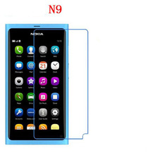 3 PCS HD phone film PE touch preserving eyesight for Nokia N9 screen protector with Wipe