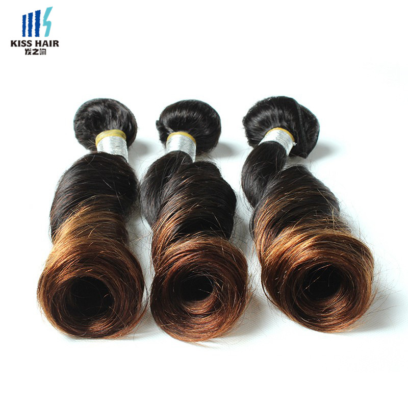 Indian Ombre Hair 3 Bundles 14-22inch T1b/30 Funmi Hair Tissage Indian Virgin Hair Sprial Curl 7A Ombre Human Hair Extensions<br><br>Aliexpress