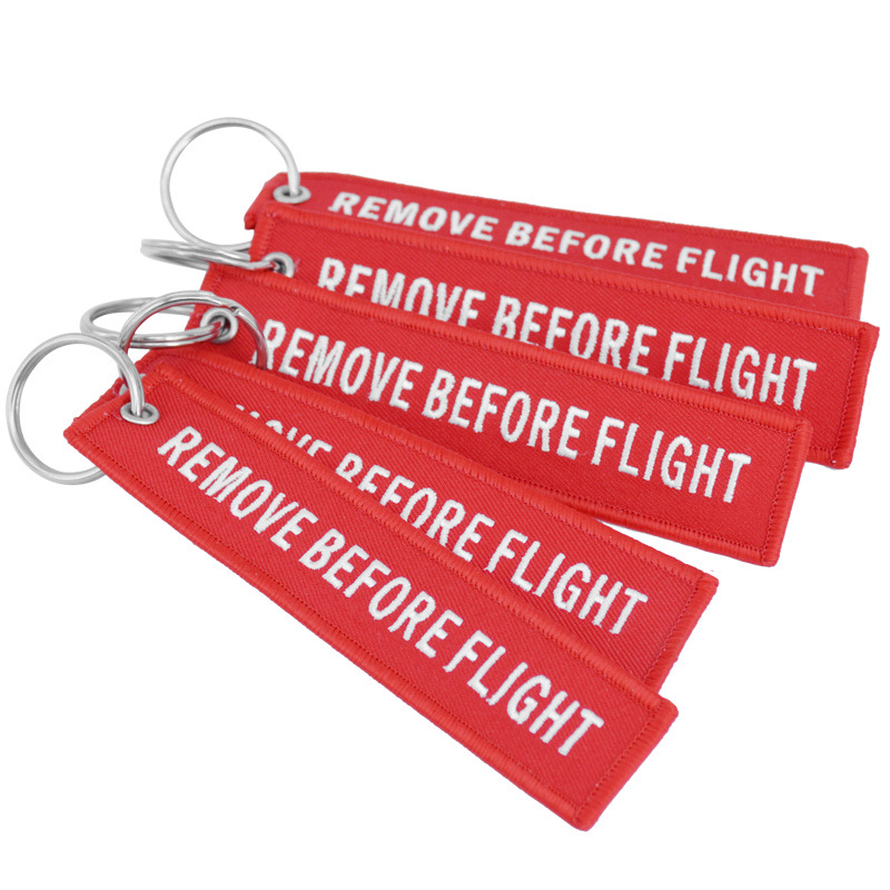 Remove Before Flight Red Embro