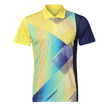 New Women/Men table tennis shirt clothes team game short sleeve T Shirt Quick Dry breathable badminton shirt Jerseys Tenis Mujer
