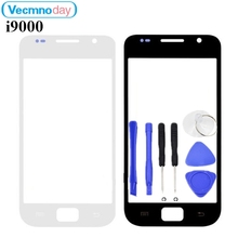Vecmnoday 4.0inch Touch Screen Panel Replacement For Samsung Galaxy S1 I9000 LCD Front Outer Glass Cover Lens With Logo + Tools(China)