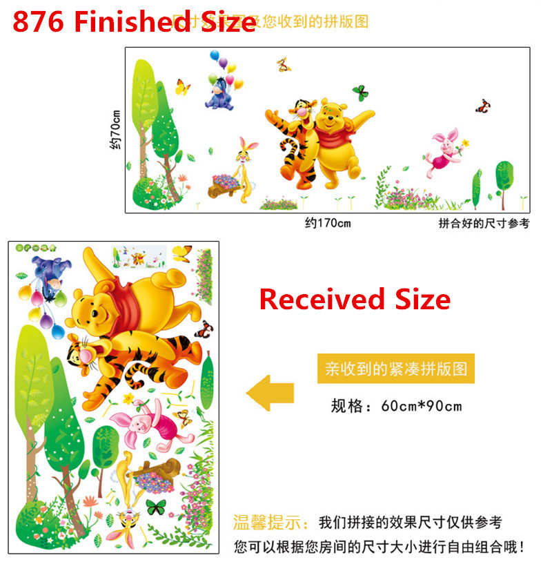 HTB1dJmthJfJ8KJjy0Feq6xKEXXak - Baby Bear Cartoon DIY Wall Stickers For Kids Children Room Decaor 3d Window Bear Winnie Pooh Nursery Wall Decals