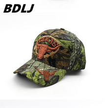 BDLJ High Quality Realtree Jungle Camo Bionic Combat Snapback Hats Baseball Cap Tactical Hip Hop Adjustable for men women(China)