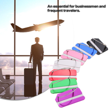 7Pcs Aluminum Alloy Travel Identifier Tag Airline Suitcase Luggage Bag Label ID Address Name Identity Key Holder Outdoor Tool