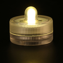 50pcs Free shpping Waterproof Submersible LED Tea Light Electronic Candle Light for Wedding Party Christmas Valentine Decoration