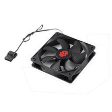 Buy 120mm Mini Cooling Computer Fan 3000RPM DC Mining Case Cooling Fan 7 Blades Computer Radiator Cooler PC Case Ventilador Heatsink for $8.23 in AliExpress store