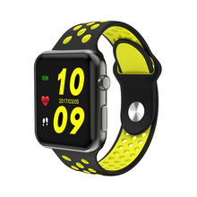 I68 Smart watch MTK2502C Heart Rate Monitor Bluetooth 42mm Smartwatch with Replaceable Straps Support WhatsApp Facebook pk iwo 3