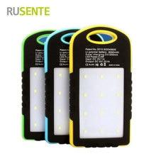 High quality Universal LED Light Outdoor Powerbak 8000mAh Solar battery font b Power b font font