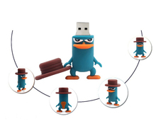 pen drive platypus USB Flash Drive Memory Stick/thumb 4gb 8g 16g 32g 64gb popular duck Pendrive U Disk external storage 16 gb