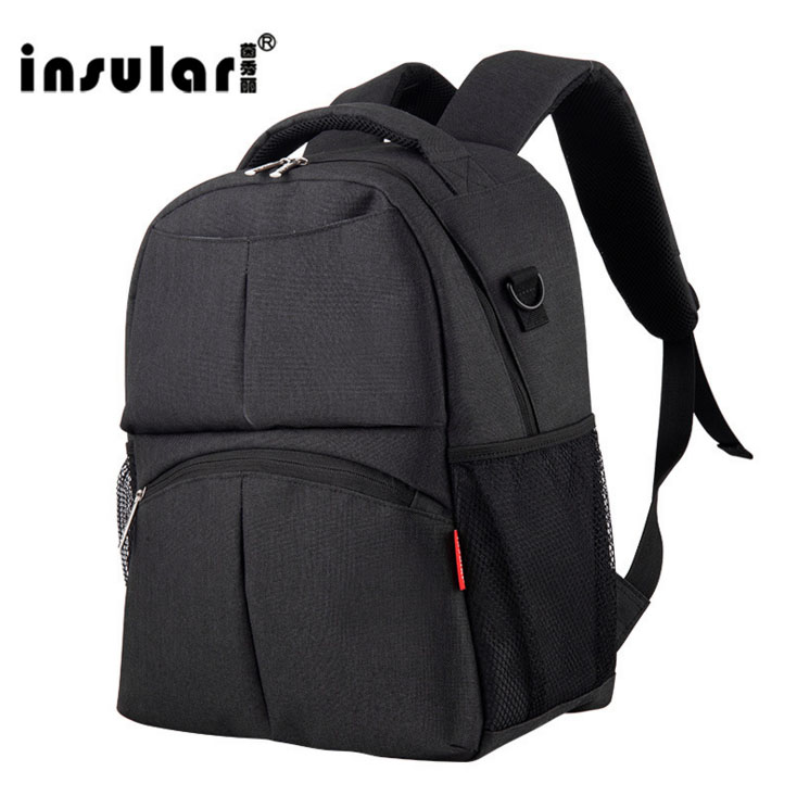 INSULAR Mother Baby Nappy Bags Large Capacity Backpack Mummy Bag <br>