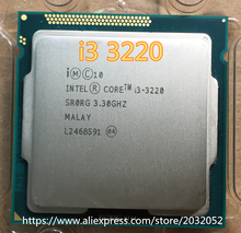 Intel Core I3 3220 i3-3220 iProcessor 3M Cache, 3.30 GHz LGA1155 Desktop i3 3220 CPU (working 100% Free Shipping) in stock(China)