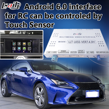 High Speed 4-Core Android Navigation Interface Two-in-one Unit for New Lexus RC Can be Controled by OEM Touch Sensor(China)