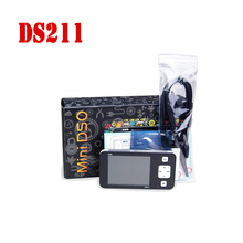 "CCDSO DS211 Osciloscopio Pocket USB Handheld Mini LCD Digital Oscilloscope For Automotive 2.8"" DSO211 Better than DSO201 DS201(China)"