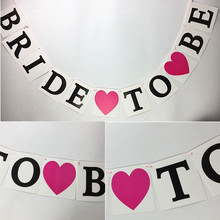HEY FUNNY Bride To Be Garland Wedding Banner Bridal Shower Photo Props Hen Party Bunting wedding party decoration