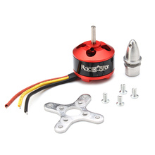 Racerstar BR2208 1400KV 2-4S Brushless Motor For RC Models Rc Airplane(China)
