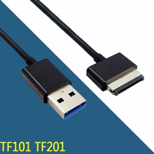 1M 3ft USB Charger Sync Data Cable Cord for ASUS Eee Pad Tablet Transformer TF101 TF201 Slider For Asus 40-Pin Devices