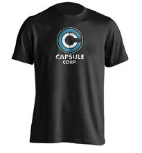 Casual Round Neck T Shirt Capsule Corp Logo - Mens & Womens Design Tees(China)