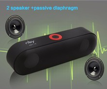 Bluetooth Speakers NYB-18 Outdoor Portable Bluetooth Speaker Wireless Mini Speaker Super Bass Support TF Card USB Flash Drive