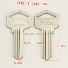 A012 Wholesale Locksmith Keymaster Brass House Home Door Blank Empty Key Blanks Keys
