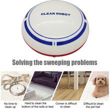 Automatic USB Rechargeable Smart Robot Vacuum Floor Cleaner Sweeping Suction Automatic Cleaning machine Gifts Idea for Mother