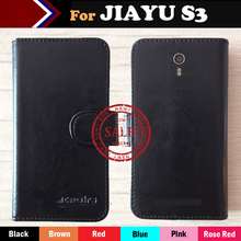 Hot! 6 Colors JIAYU S3 Phone Case Leather Protective Cover Mobile Phone Case For JIAYU S3 SmartPhone Card Holder Wallet+Tracking(China)