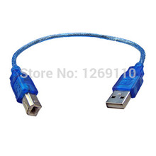 Blue USB2.0 A Male to B Male Printer Cable Cord For Computer PC Laptop Brand New 9872 alMz(China)