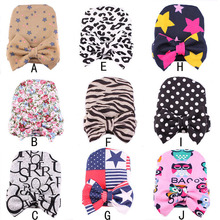 Newborn Baby Hat Cotton Cute Character Printed Baby Girl Boy Hedging Caps Infant Baby Helmet Caps Children Hats