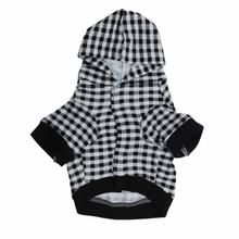 Smart Durable Fashional Mordern Doggie Clothing Pet Apparel Grid New Design Dog Clothes For Small Dogs Roupa Cachorro