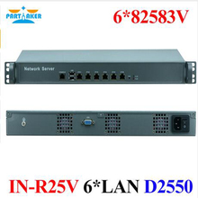 Partaker Intel Dual Core D2550 6 LAN Ports Firewall Application VGA COM Ports Router Server(China)