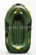 2 Adult 193x115cm Thickened Drifting Boat Factory Directly Canoeing Outdoor Fishing Inflatable Boat Army green Military ship(China)