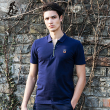 Pioneer Camp men's polo shirt youth casual polo shirt mens slim fit polo shirt solid  jerseys brand clothing620304
