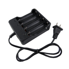 4 Slots Intelligent Battery Charger with Short Circuit Protection US Plug For 4x 18650 Lithium-ion Rechargeable Battery
